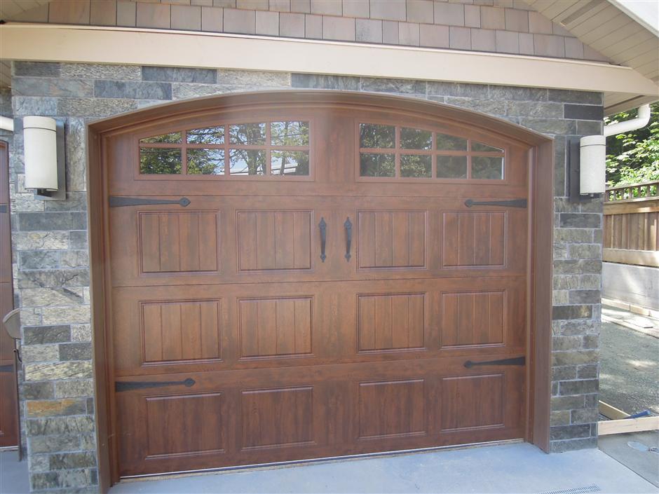 Gallery collection garage door for Garage door finishes